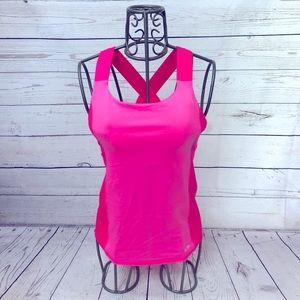 C9 by Champion Duodry Colorblock Pink Tank